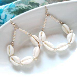 New! Zara Seashell Earrings